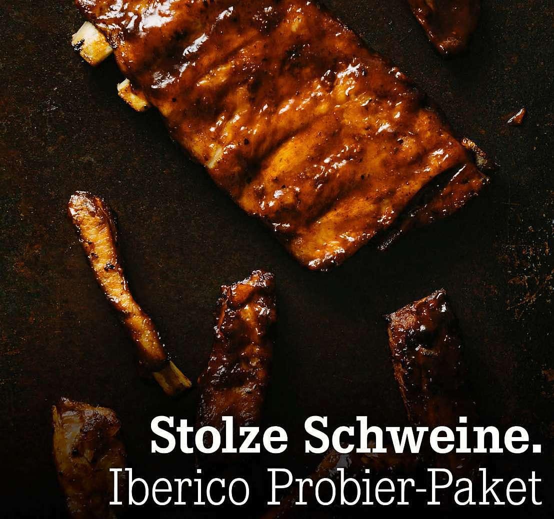 Stolze Schweine. Iberico Probier-Paket