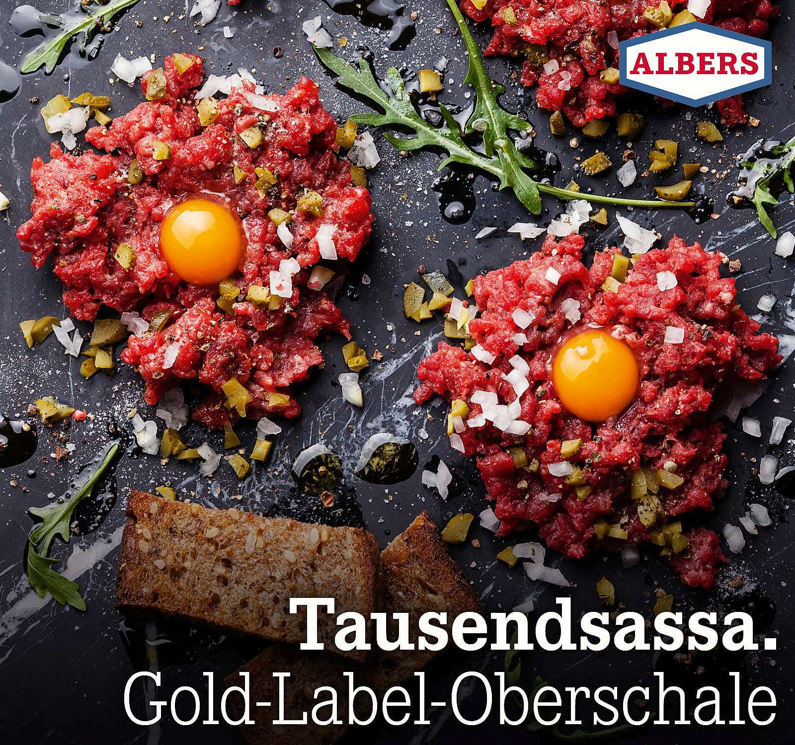 Tausendsassa. Gold-Label-Oberschale