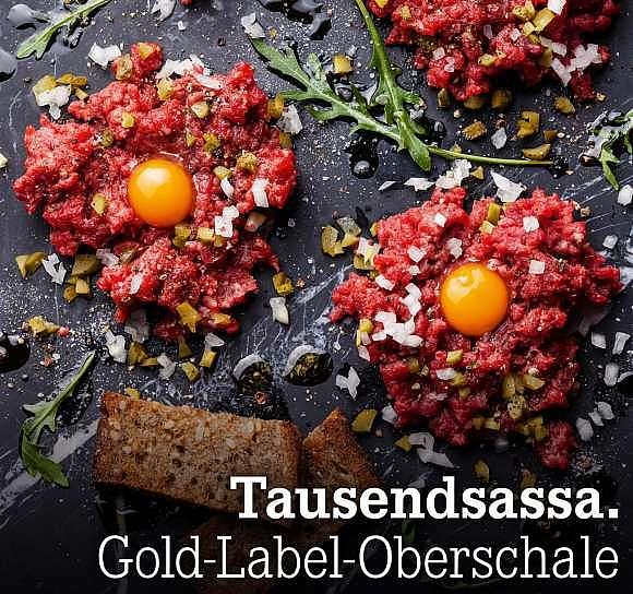 Tausendsassa. Gold-Label-Oberschale