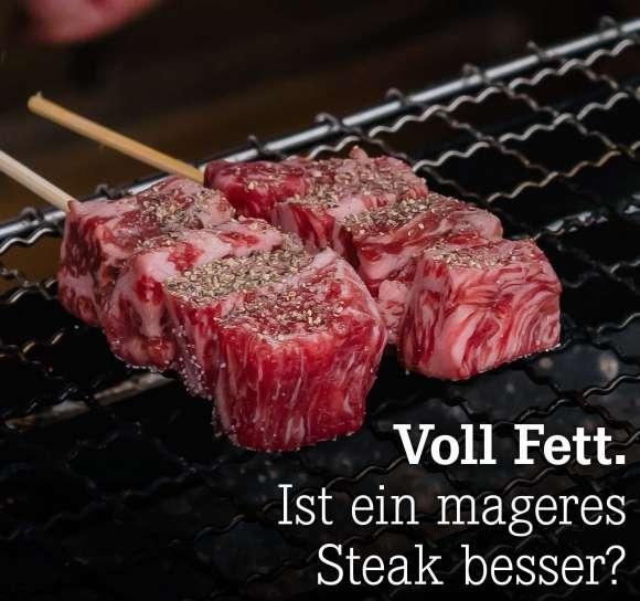 Ist ein mageres Steak besser?
