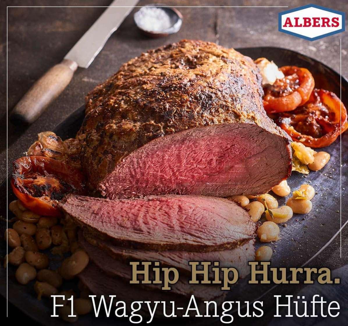 Hip Hip Hurra. F1 Wagyu-Angus Hüfte