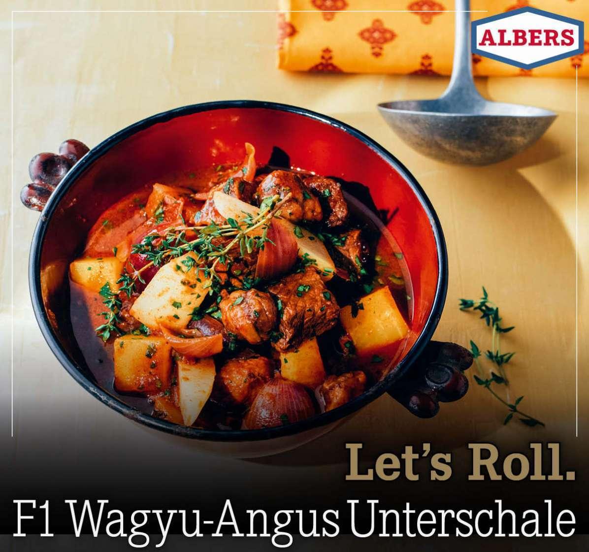 Let's Roll. F1 Wagyu-Angus Unterschale
