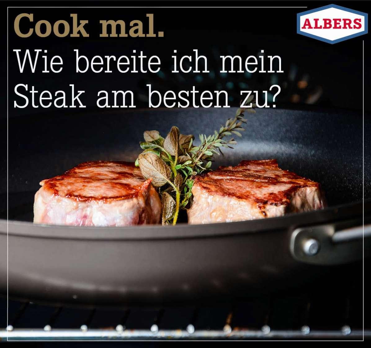 Cook mal. Wie bereite ich mein  Steak am besten zu?