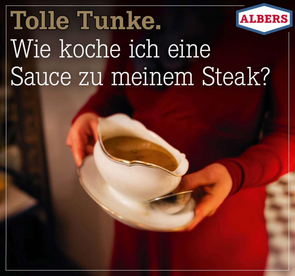 Tolle Tunke. Wie koche ich eine Sauce zu meinem Steak?