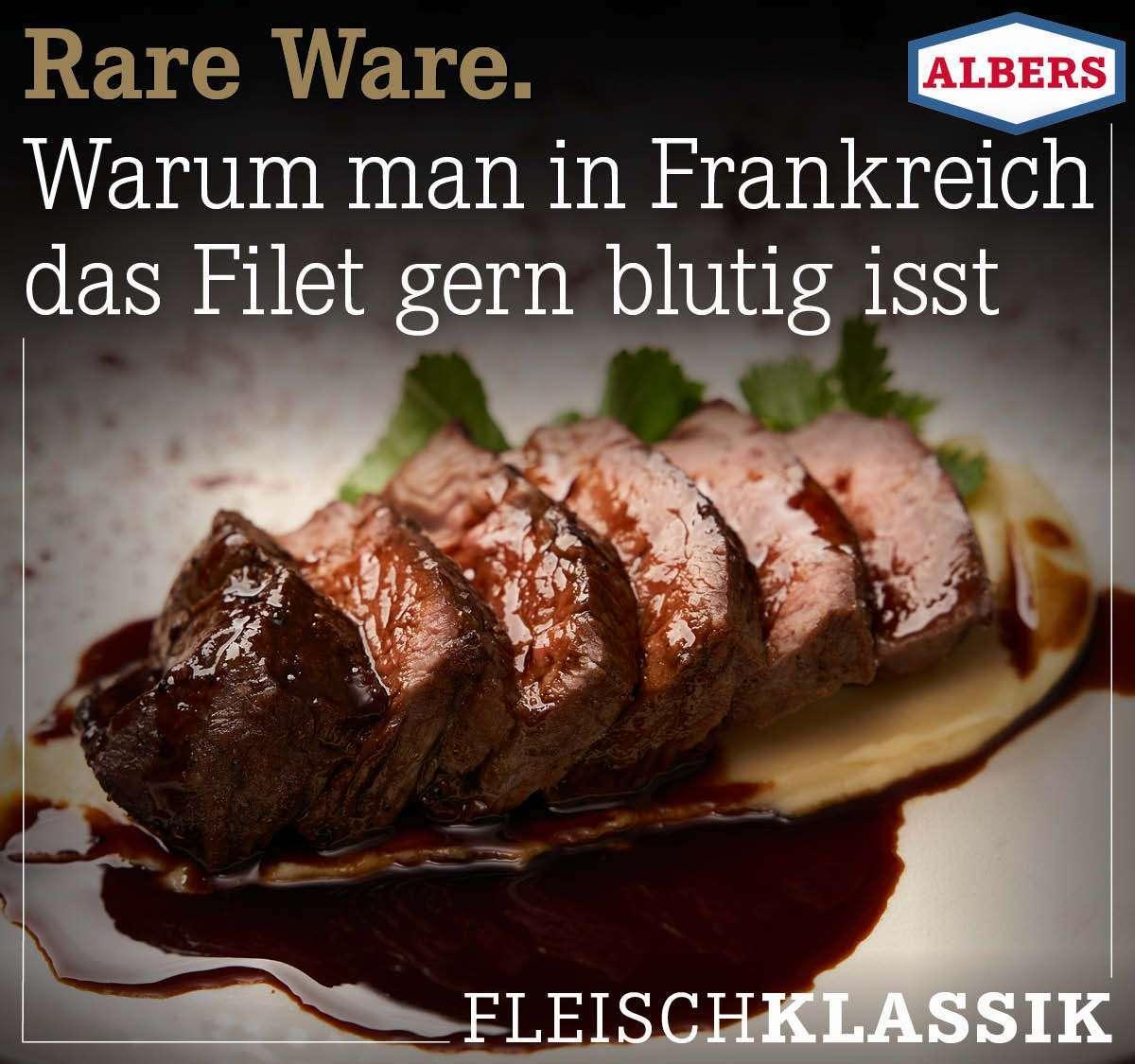 Rare Ware. Warum man in Frankreich das Filet gern blutig isst